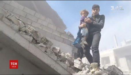 Кількість жертв авіаударів у Сирії зросла до 250 осіб