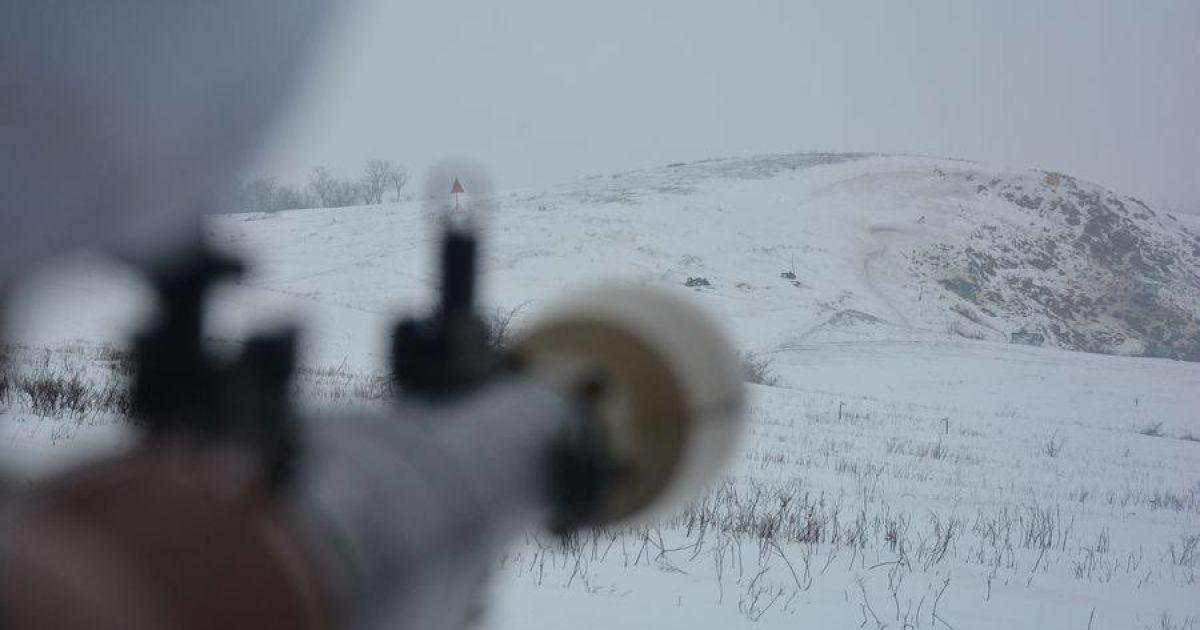 На Донбассе во время обстрела боевиков погиб военнослужащий