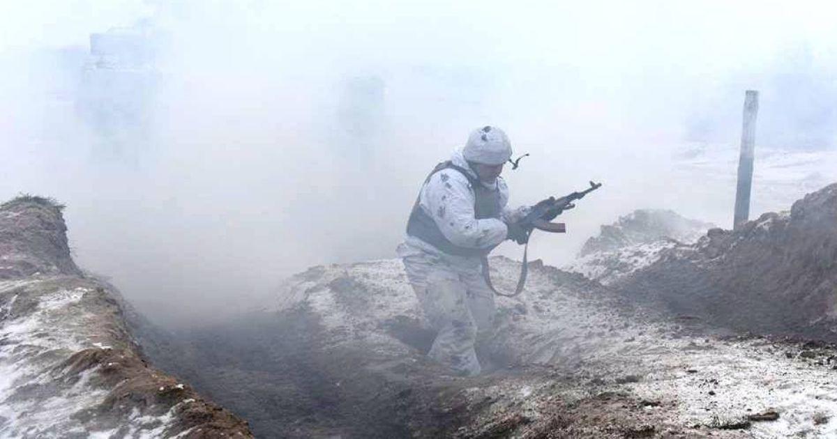 На Донбасі минулої доби загинув військовий - штаб АТО