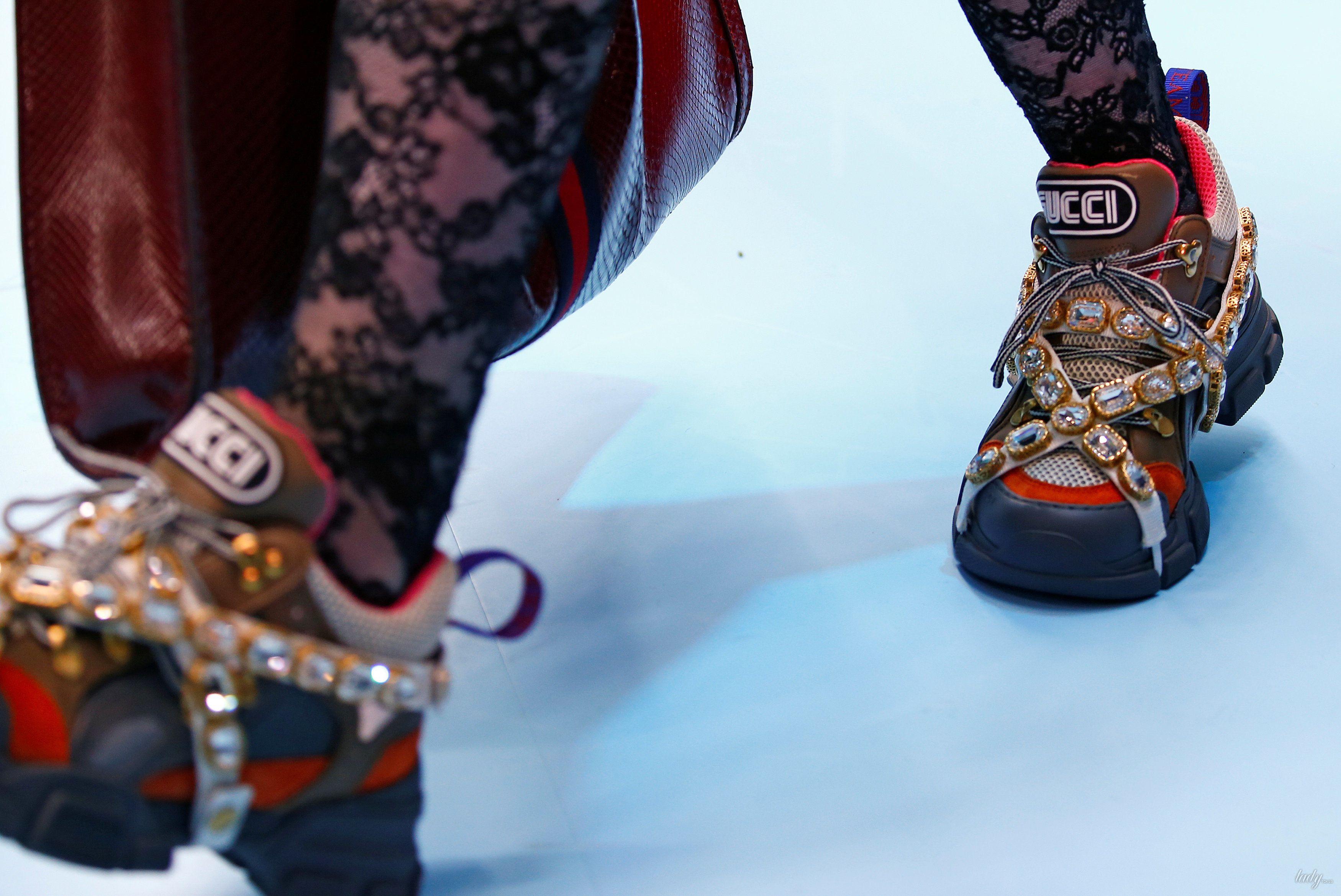 Показ коллекции бренда Gucci в Милане_6