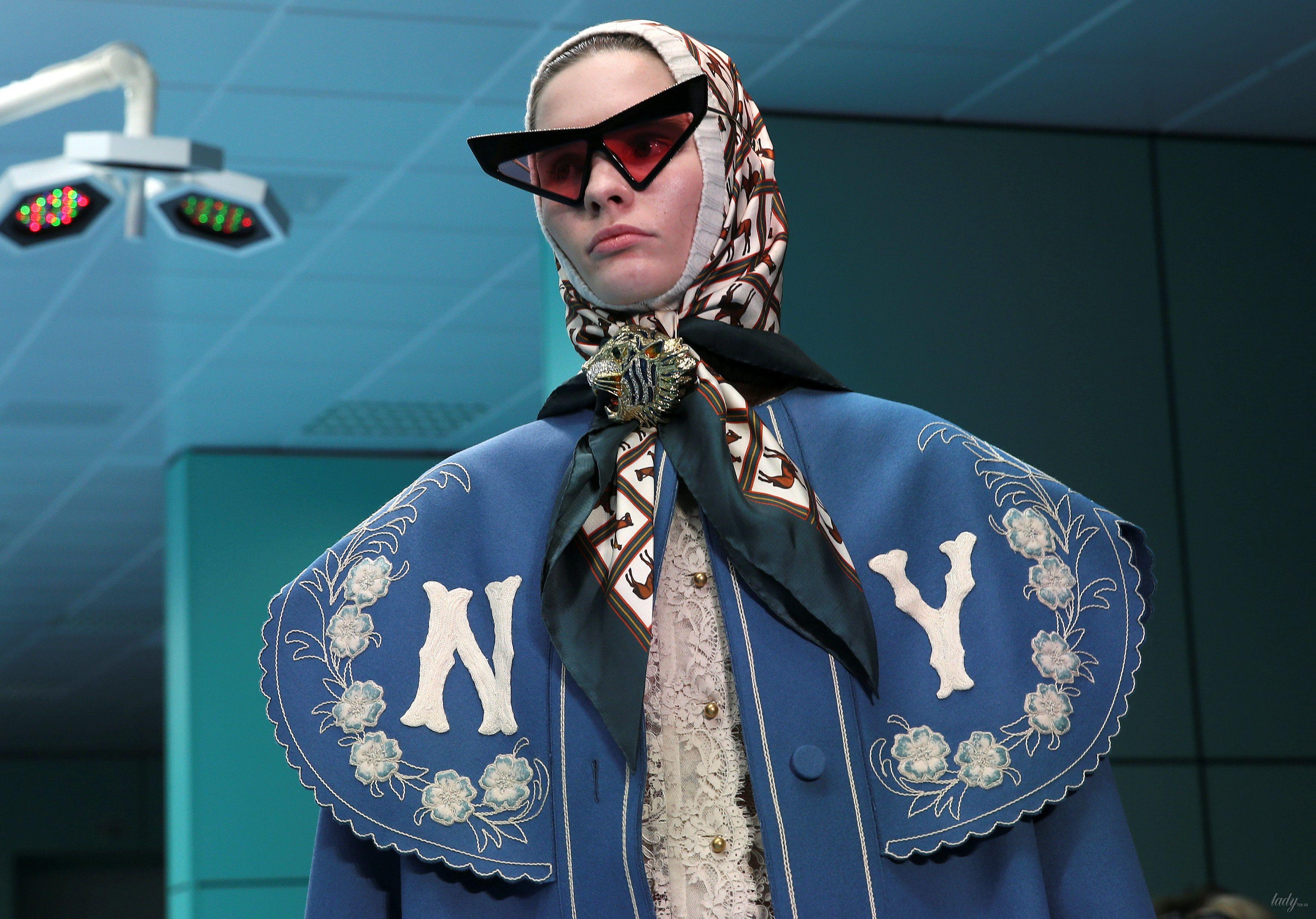 Показ коллекции бренда Gucci в Милане_16