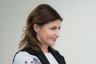 Марина Порошенко в красивой вышиванке посетила Волынскую область