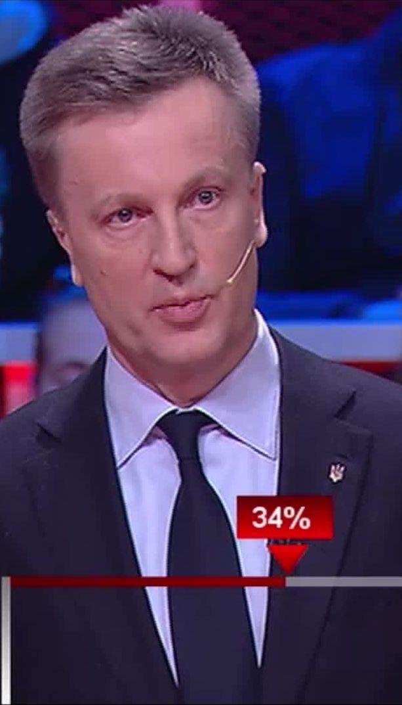 Наливайченко: Найстрашніше те, що керівництво силових структур Криму перейшло у війська окупанта