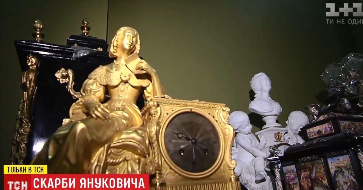 """В тайниках Национального художественного музея показали арестованные """"сокровища Януковича"""""""