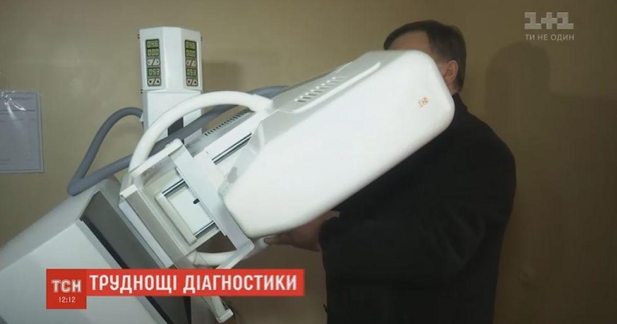 В одной из больниц на Николаевщине 6 лет скрывали новый маммограф