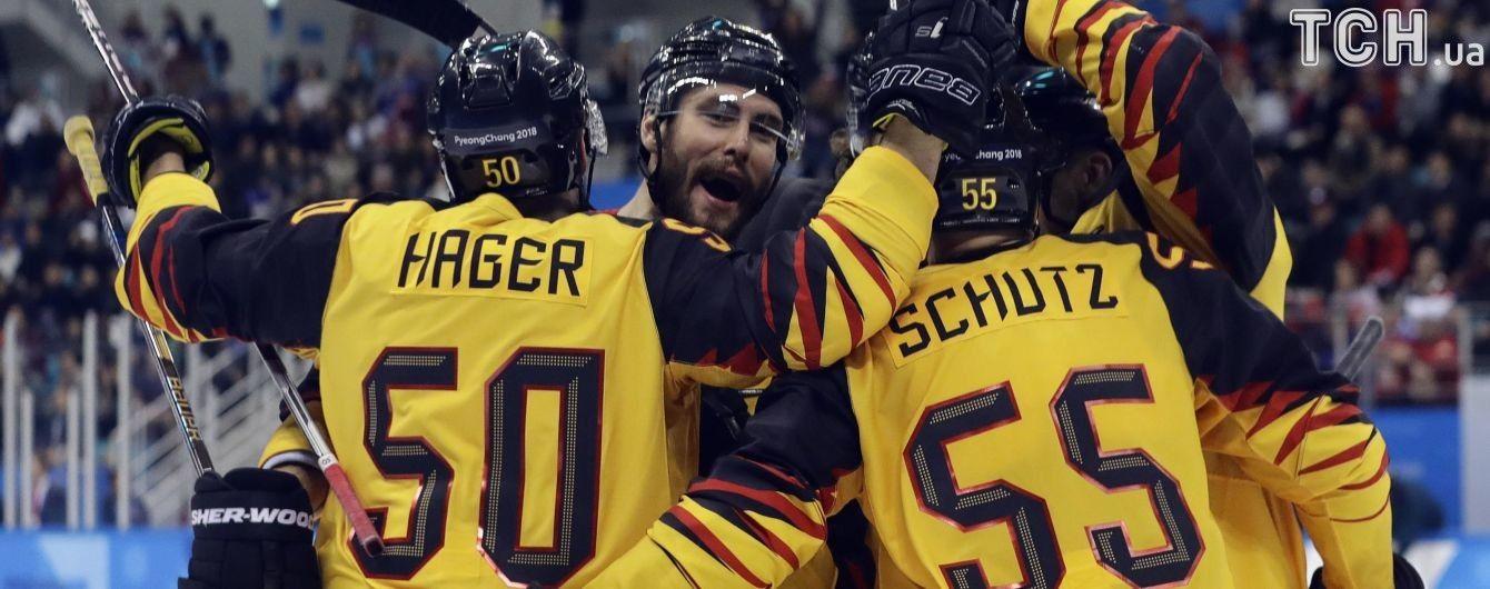 Хокейна сенсація Пхенчхана! Німеччина обіграла Канаду у півфіналі Олімпійського турніру
