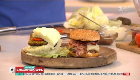 Рецепты классического и постного бургера