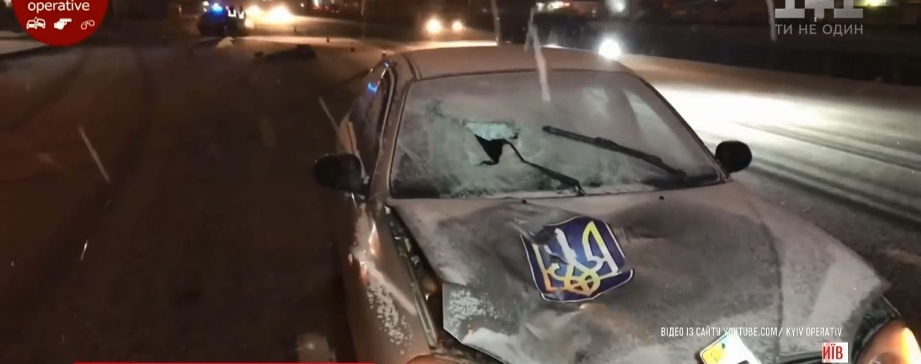 """У Києві пішохід вибіг на трасу шириною у вісім смуг і був на смерть збитий """"Ланосом"""""""