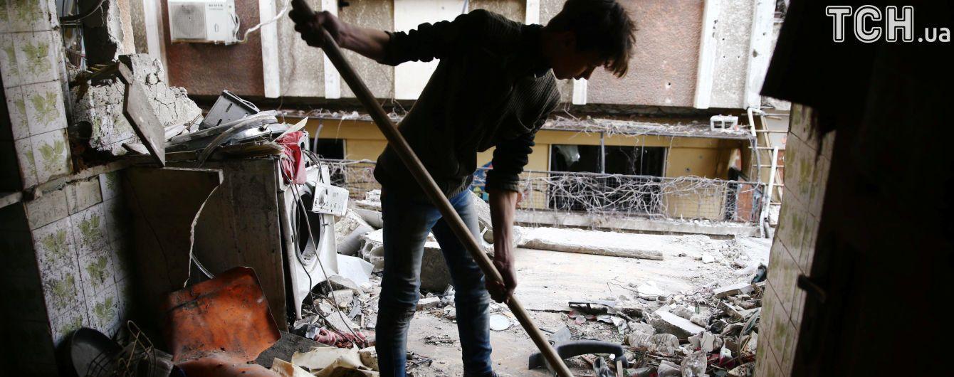 В Восточную Гуту в Сирии прибыл второй гуманитарный конвой