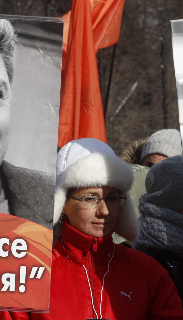 Сквер біля посольства РФ у Києві назвали на честь Нємцова
