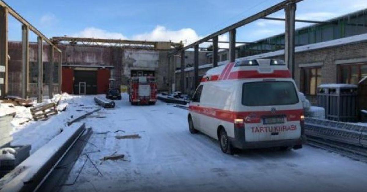 В Эстонии на предприятии погиб рабочий-украинец