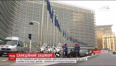 Евросоюз продлит санкции против причастных к войне на Донбассе и аннексии Крыма