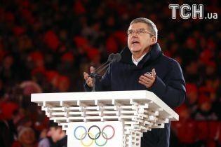 Президент МОК: Олимпийские игры в Пхенчхане прошли без России