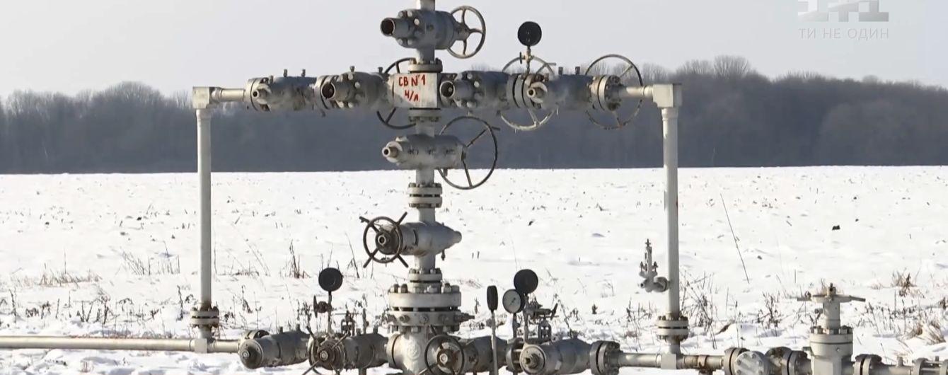 Україна отримала 26,5 млн куб. м газу з Євросоюзу