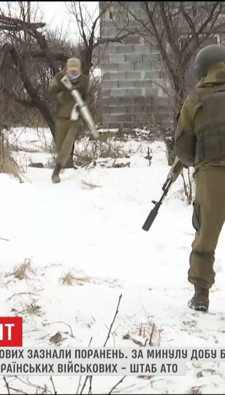 Бойовики з мінометів обстрілюють українські позиції по всій лінії розмежування