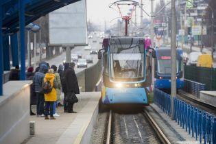 В столице на выходные произойдут изменения в работе скоростного трамвая