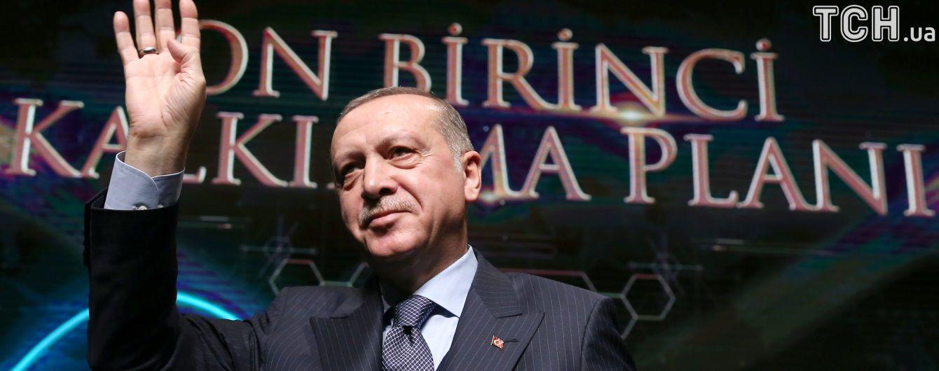 Эрдоган назвал себя и Путина лучшими президентами
