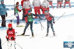 Сборная Украины финишировала в топ-10 смешанной эстафеты на Кубке мира по биатлону
