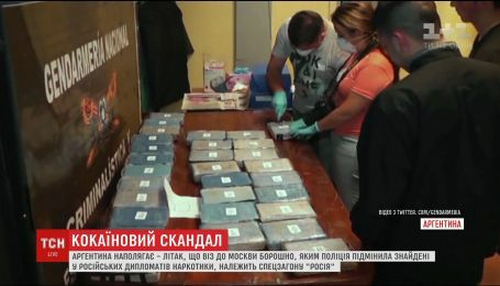 """Літак, що віз до Москви борошно замість наркотиків, належить спецзагону """"Росія"""""""