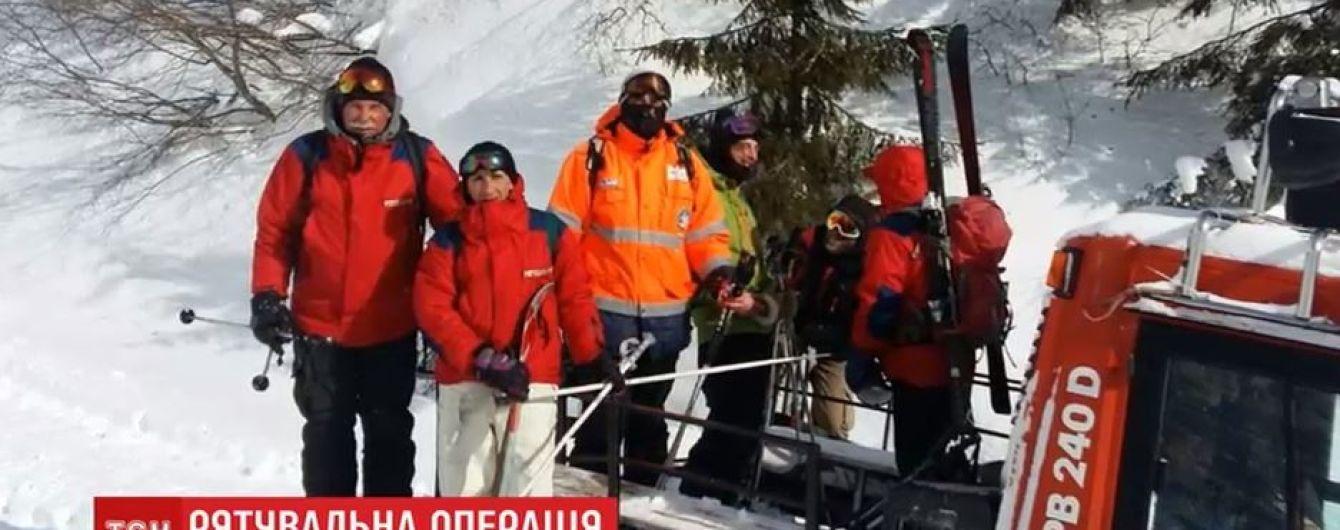 Спасенные с Драгобрата лыжники рассказали, как заблудились и три дня выживали в горах