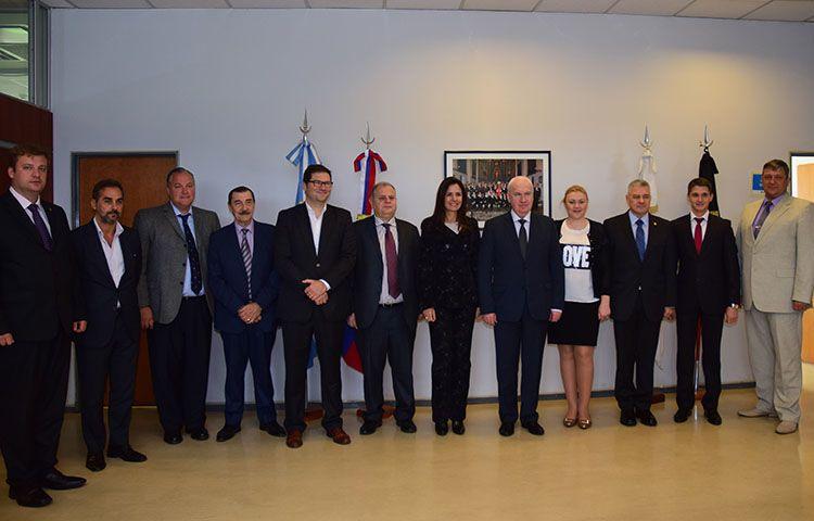 Ковальчук у посольстві РФ в Аргентині