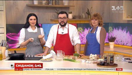 Печериці з горіховим соусом від фудблогерки Дарії Дорошкевич