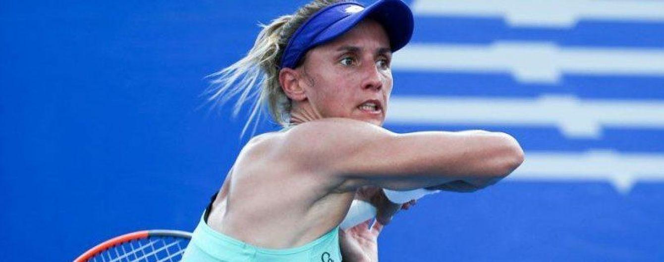 Теннисистка Цуренко без проблем вышла в четвертьфинал турнира в Акапулько
