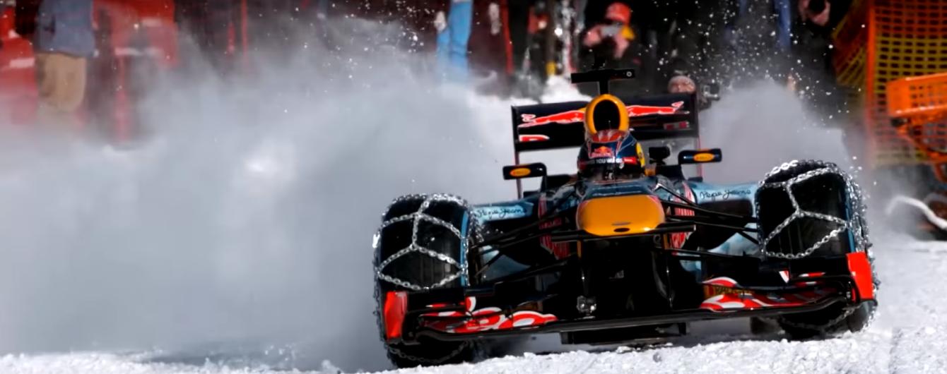 Наймолодший пілот в історії Формули-1 випробував свій болід в Альпах
