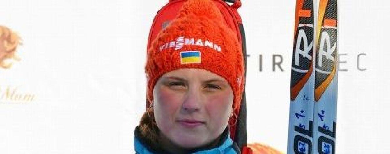 Украинская биатлонистка, которая живет в разваливающемся доме, выиграла медаль на чемпионате мира