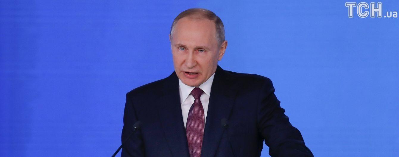 Путін розповів, як його вертоліт обстріляли у Чечні