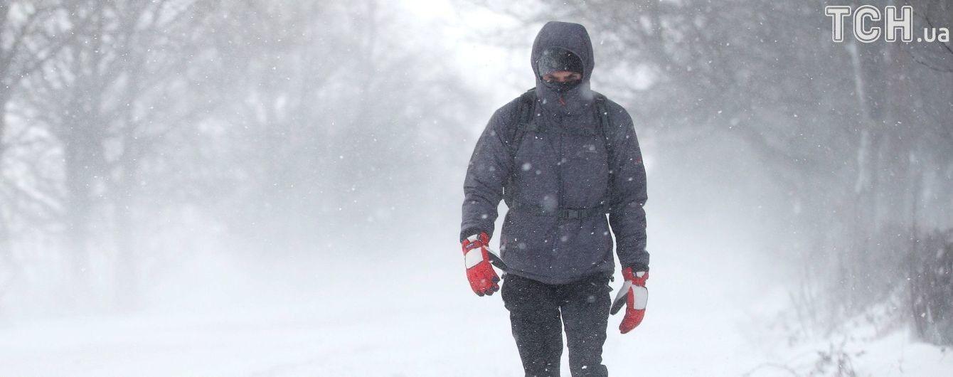 Синоптики попереджають про снігопади і хуртовини у більшості областей