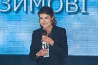 В деловом костюме и на шпильках: Марина Порошенко проводила украинских спортсменов на Паралимпиаду