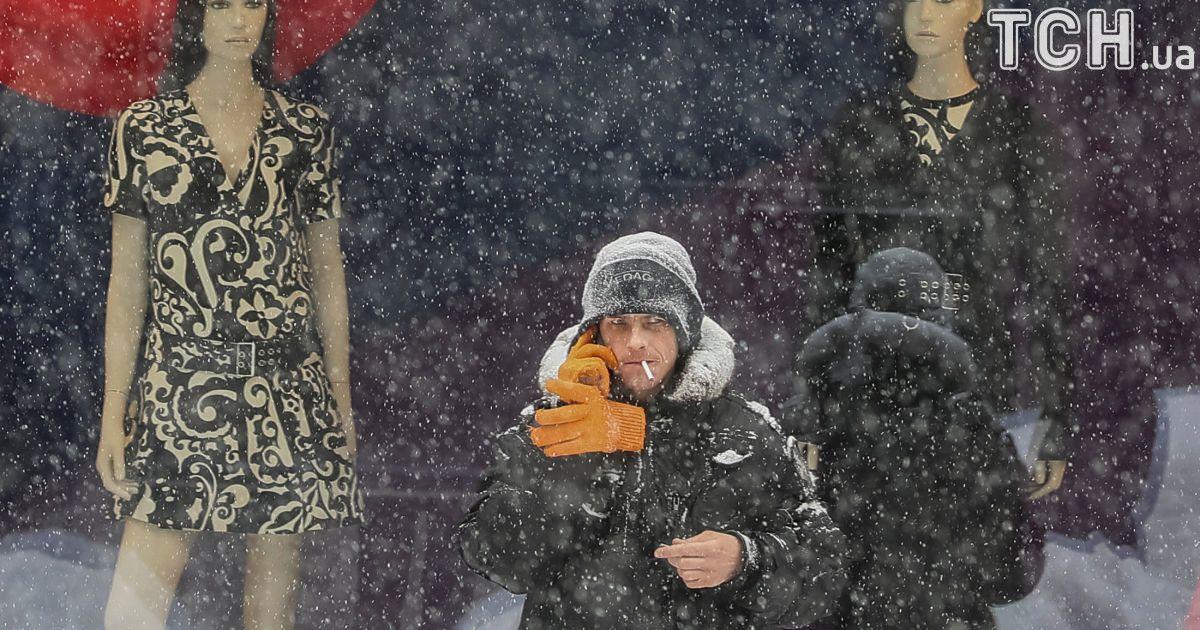У перший день березня Україну засипало снігом. @ Reuters