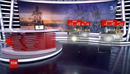 На зміну снігопадам в Україну прийдуть морози