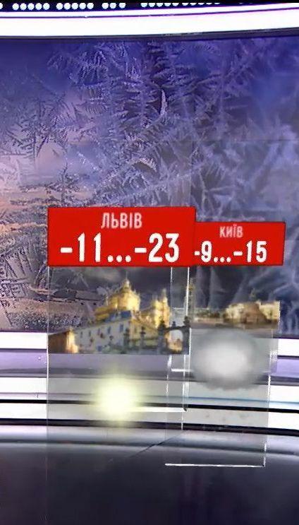 На смену снегопадам в Украину придут морозы