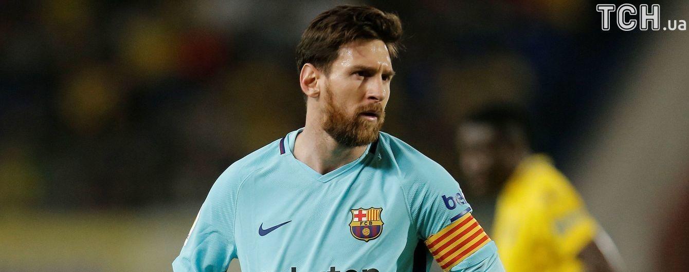 """Месси забил 599-й гол в карьере, но """"Барселона"""" потеряла очки в матче с аутсайдером"""