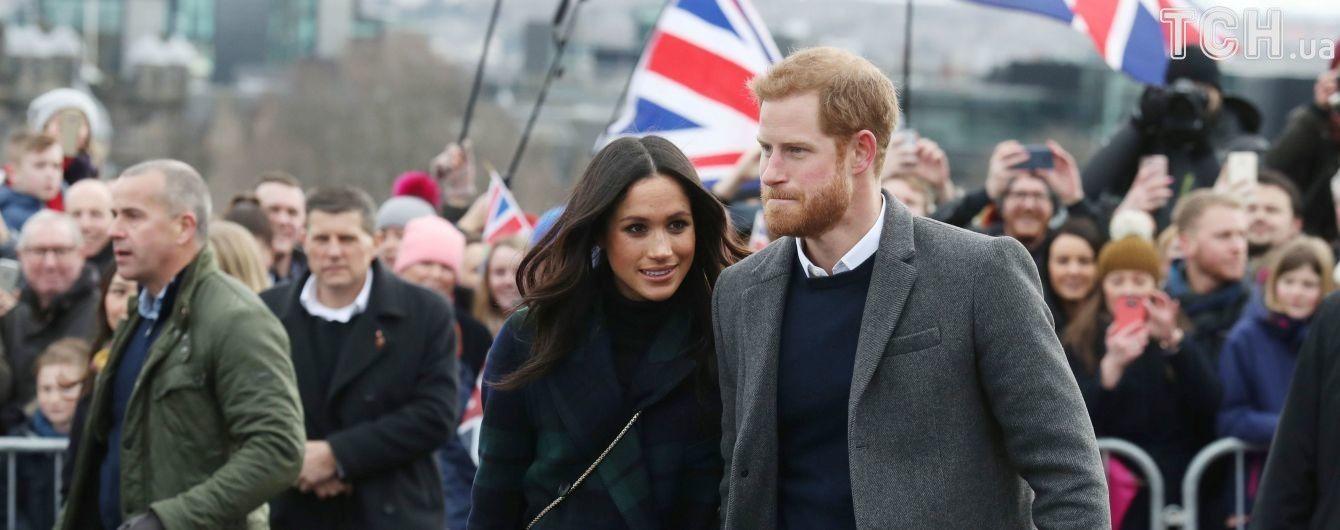 Принц Гаррі та Меган Маркл покликали на своє весілля майже три тисячі звичайних людей