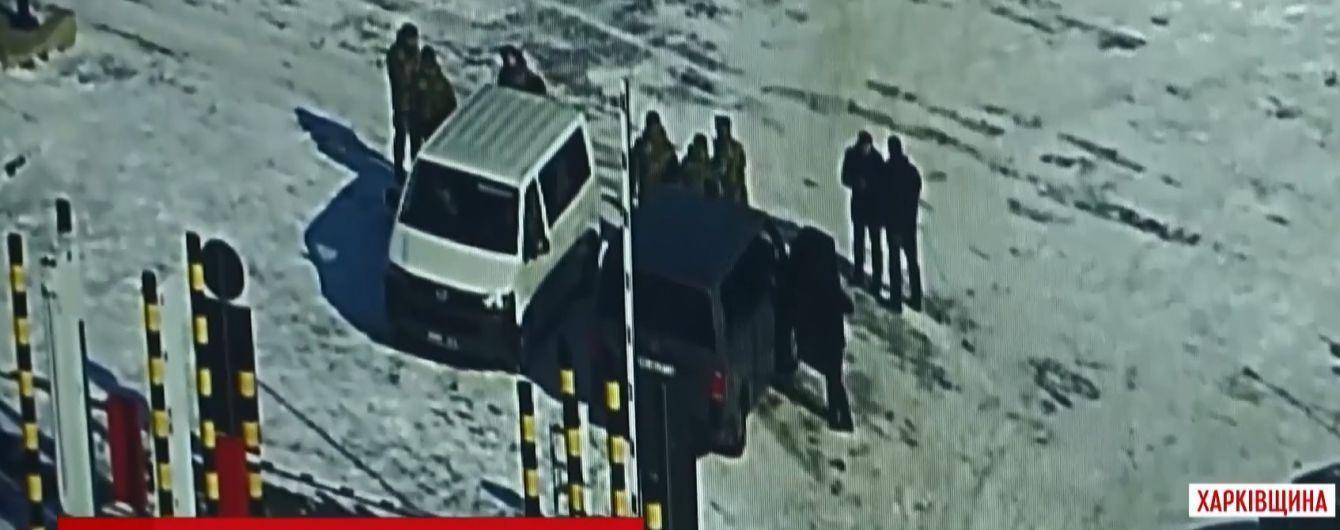 Похоже на спецоперацию: обмен агентов ФСБ на украинских пограничников сняли камеры наблюдения