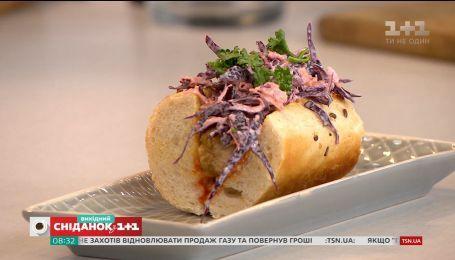 Рецепт хот-дога с домашней сосиской