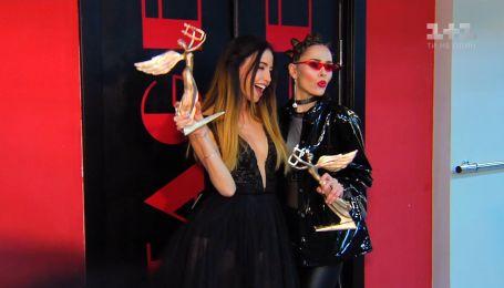Про що говорили українські зірки за лаштунками музичної премії Yuna - 2018