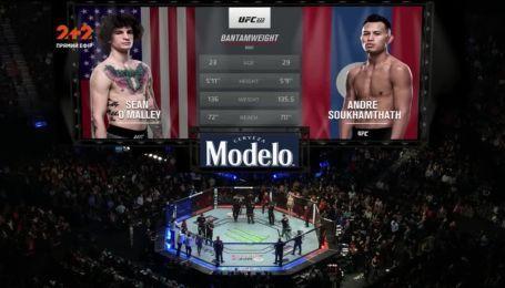 UFC 222. Шон О'Мэйли - Андре Сухамтата. Видео боя
