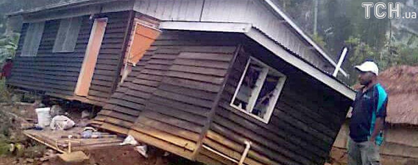 Папуа-Новую Гвинею потрясло новое мощное землетрясение