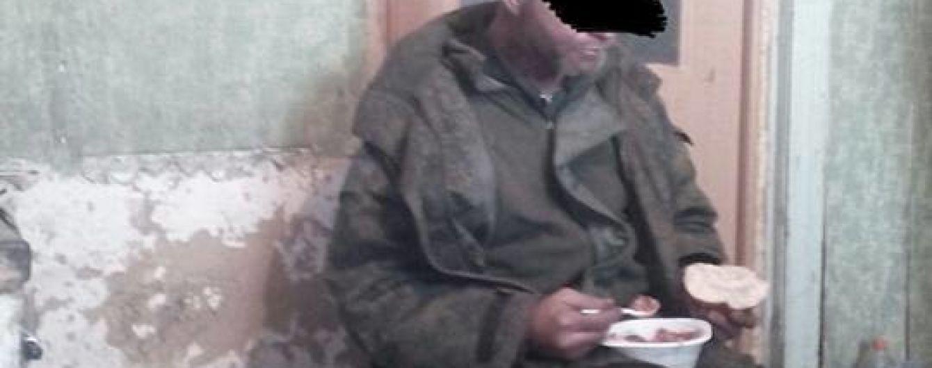 Українські військові у зоні АТО затримали бойовика з Російської Федерації