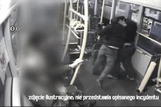 У Польщі в трамваї жорстоко побили українця через його національність