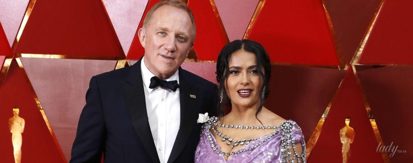 """""""Оскар-2018"""": Сальма Хайек украсила декольте бриллиантами на 4 миллиона долларов"""