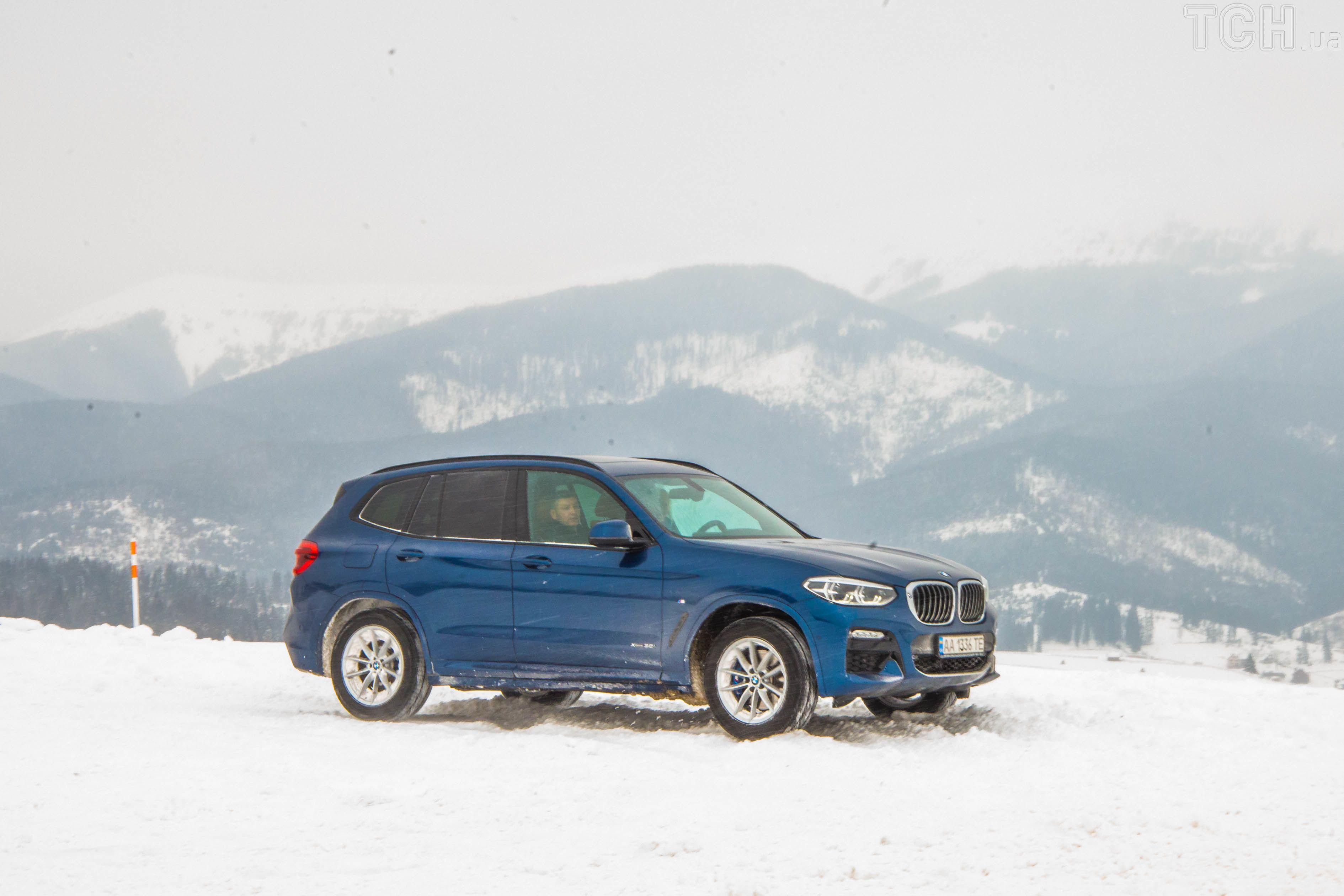 SUV, полный привод, BMW X3