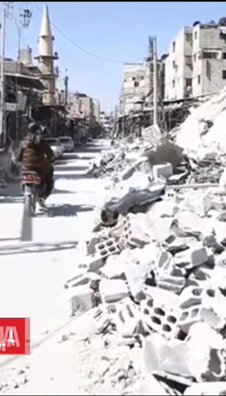 Асад запретил ввоз в Восточную Гуту гумконвоя