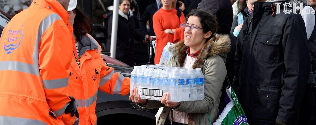 Через лютування погоди в Британії без води залишилися 24 тисячі сімей