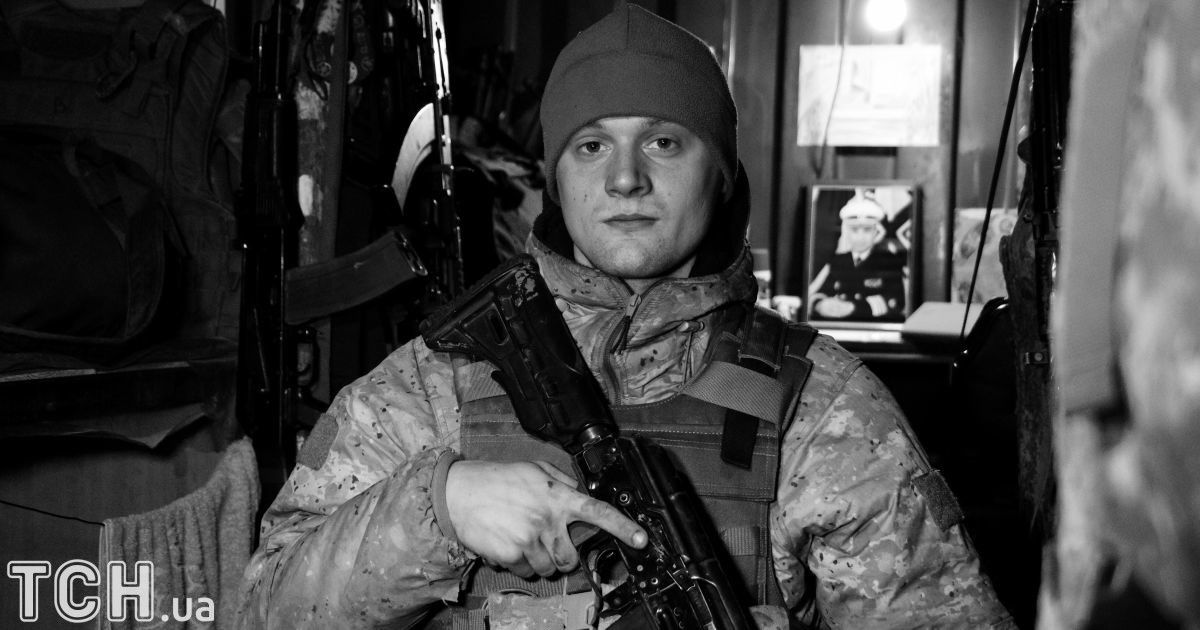 "Боец морской пехоты. @ Дмитрий Мороз/Журналист ""Спецкор"""