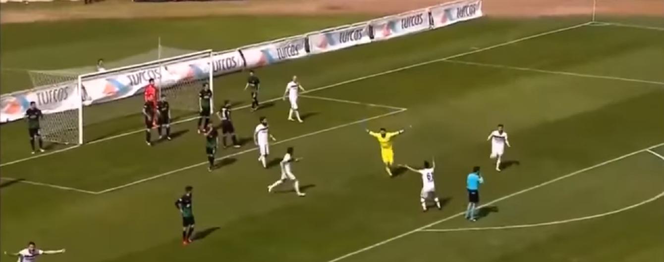 Турецький воротар здійснив неймовірне, забивши гол за секунду до кінця матчу